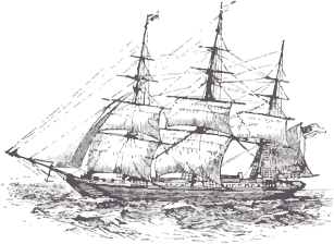 GS Haly clipper ship